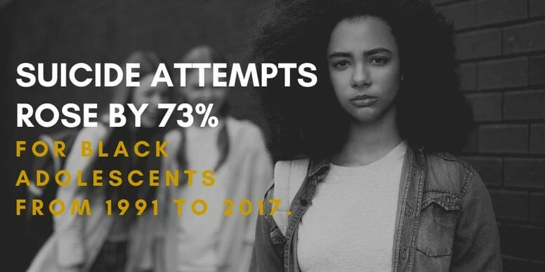 Black teenager